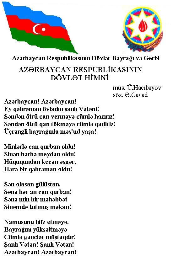 Поздравление азербайджан язык